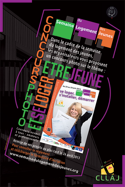 Jeu Concours Photos 2013 - Semaine du Logement des Jeunes